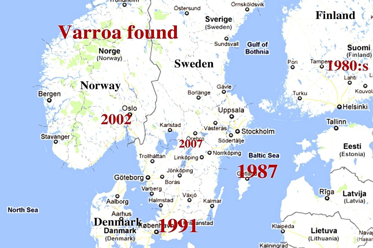 Sverigekartafotorjpg - Sweden map boras
